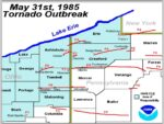 This Weekend Marks 35th Anniversary Of Deadly Tornado Outbreak