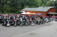 Bikers 'Riding for the Cure' Saturday