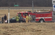 Crash Slows Traffic At Busy Intersection