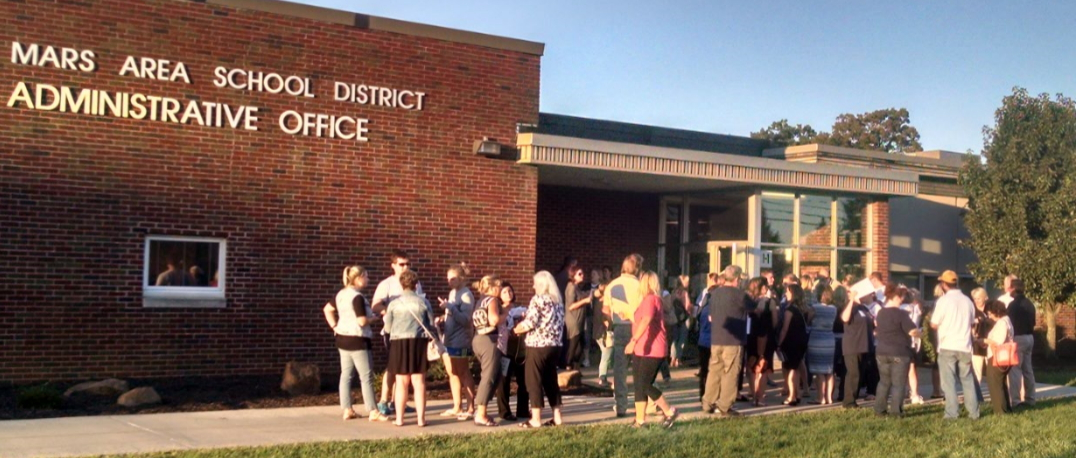 Staff Accepts Offer From Mars School District