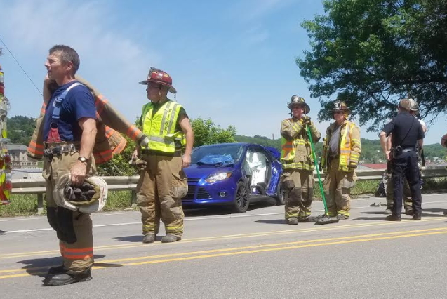 Route 8 Crash Injures At Least 1
