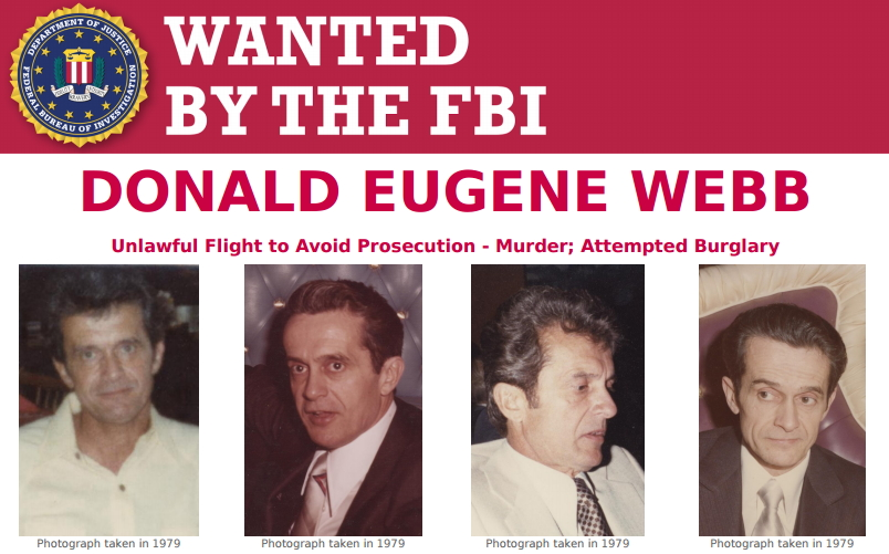 FBI Releases New Photos Of Wanted Murderer Donald Webb