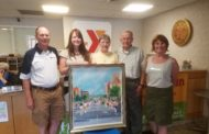 Butler Road Race Painting Donated To YMCA