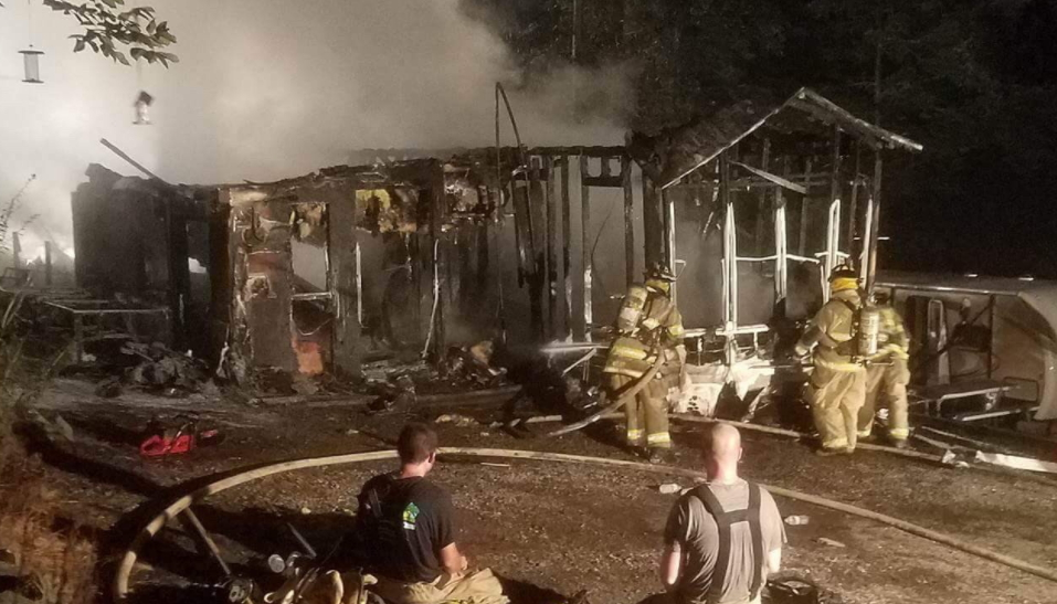 Fire Marshal Investigating Campground Fire That Destroyed, Damaged Nine Trailers