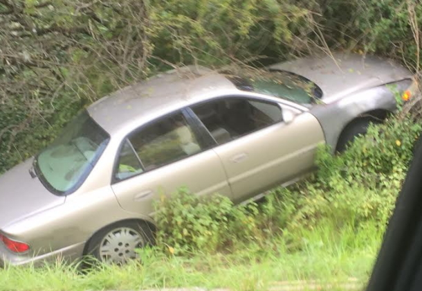 Crash Backs Up Traffic