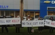 Protestors Rally Against Tax Bill