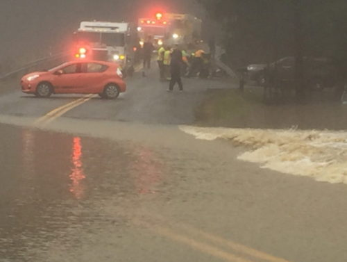 Flooding Closes Several Roads
