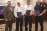 Local Firefighters Honored For Rescue