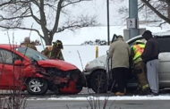 Head-On Crash Backs Up Traffic At Busy Butler Twp. Intersection
