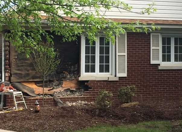Truck Crashes Into Butler Twp. Home