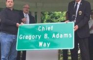 Saxonburg Street Renamed After Fallen Police Chief
