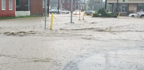 Zelienople Under Water During Monday's Storms; More Rain A Possibility On Tuesday