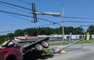 Accident Knocks Down Traffic Lights, Again
