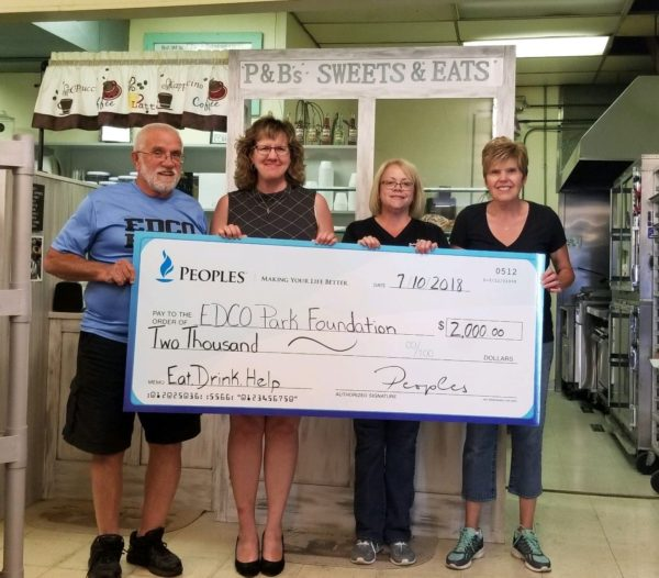 PEOPLES Eat, Drink, Help Program Benefits EDCO Park Foundation