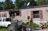 Man Jumps From Window To Escape Mobile Home Fire