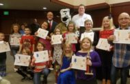 Kids Step Up For Fire Prevention