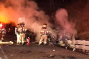 Overnight Fiery Crash In Slippery Rock