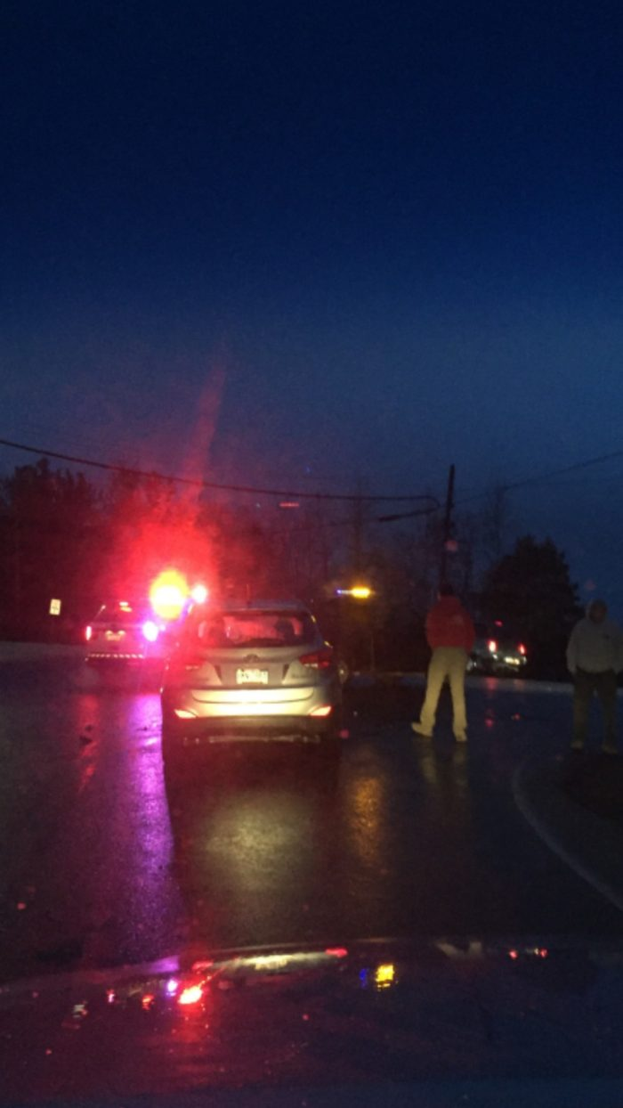 Two Vehicles Involved In Greenwood Dr. Accident