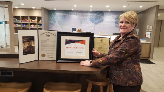 Springhill Suites Receive Downtown Award; Others Honored