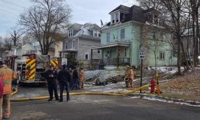 Crews Battle Blaze At Butler Residence