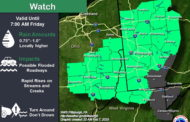 Flood Watch Issued Through Friday Morning