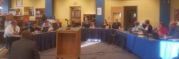 S. Butler Board Debates Tax Decrease