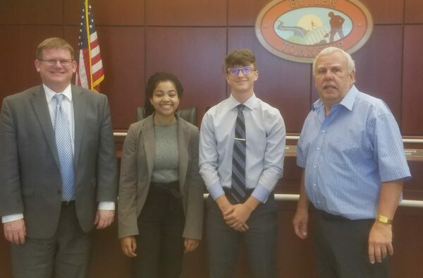 Butler Twp. Board Chooses New Student Reps