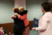 Pinkerton Honored At County Commissioner Meeting