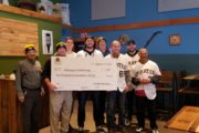 Pirates And Mars Bank Make Donation To Veterans In Need