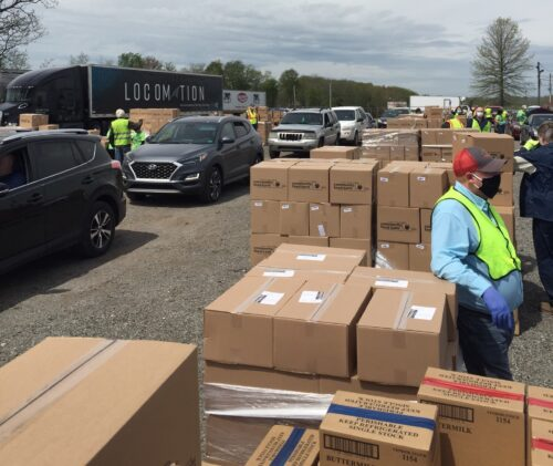 More Residents Helped By Another Food Distribution at Butler Fairgrounds