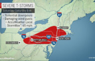 Potential For Severe Weather Saturday