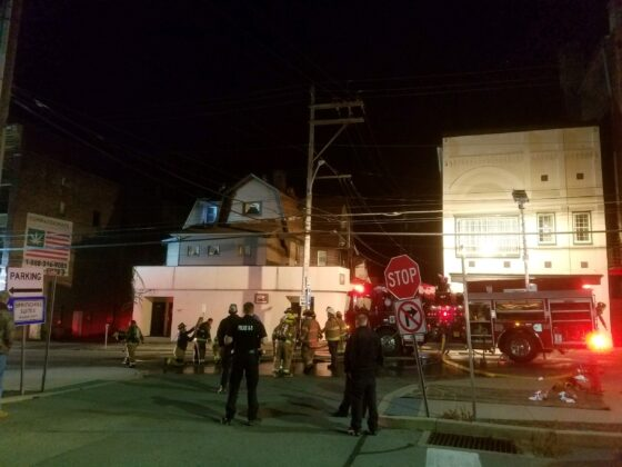 Multiple Crews Respond To Downtown Fire