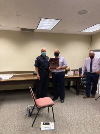 Longtime Firefighter Wins Zelienople's Volunteer Of The Year