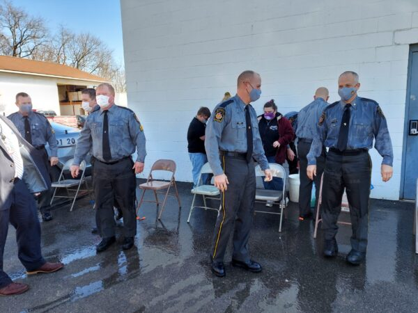 Cops Get Soaked For Special Olympics