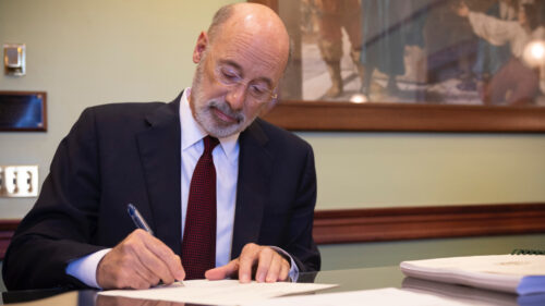 Wolf: Pennsylvania Will Share Gun Violence Data With Surrounding States