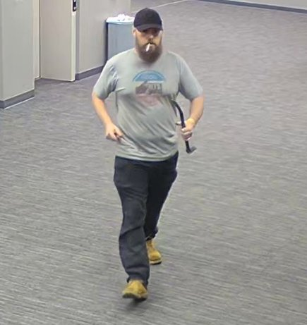 Police Searching For Man Who Stole Items From Church