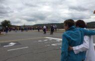 Golden Tornado Marching Band Plays At BMH