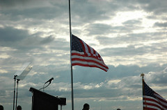 Flags Flying At Half Staff To Honor Officers Killed In Line Of Duty