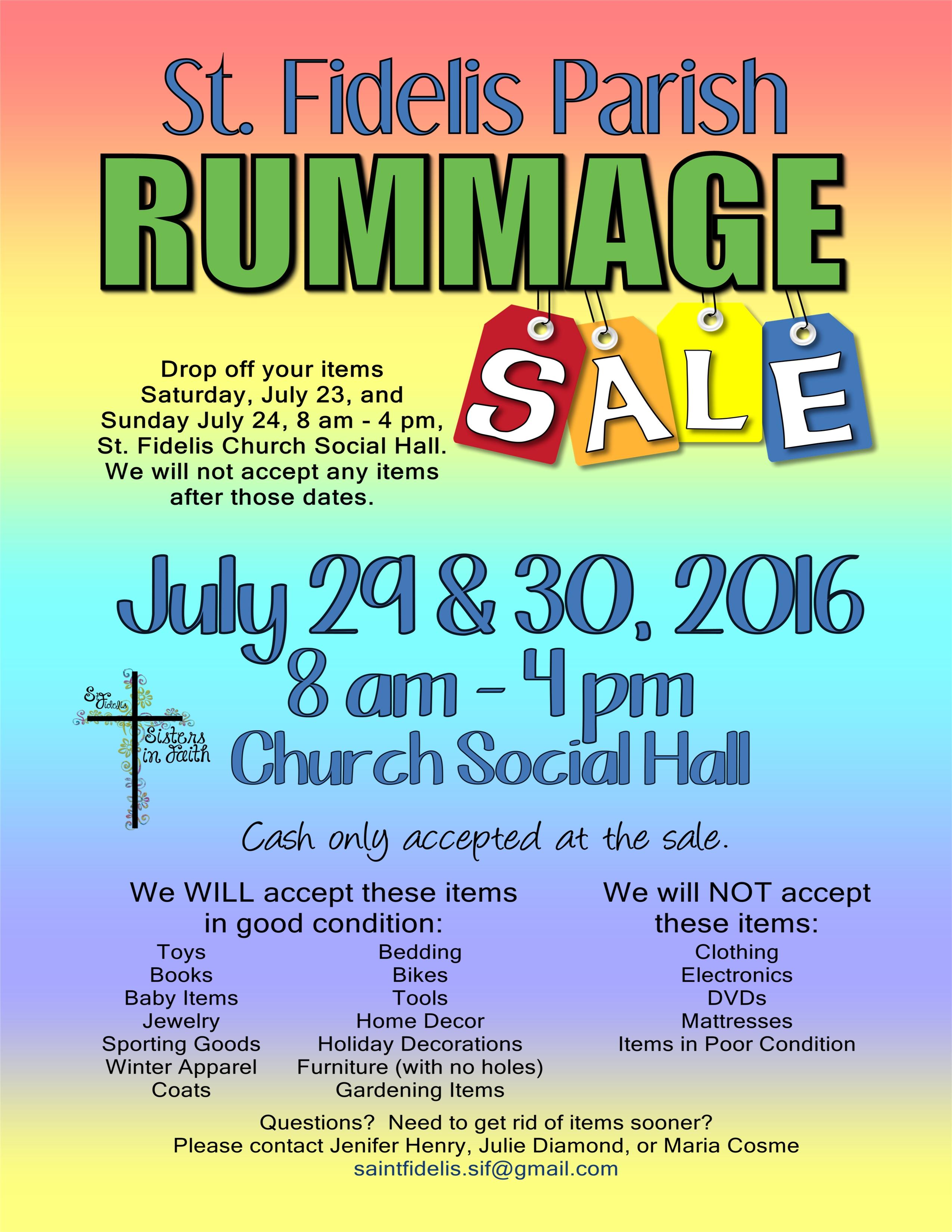 8 5x11 2016 rummage sale flyer 2