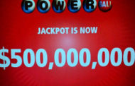 Powerball Jackpot Jumps To $510 Million After No One Wins Wednesday's Drawing