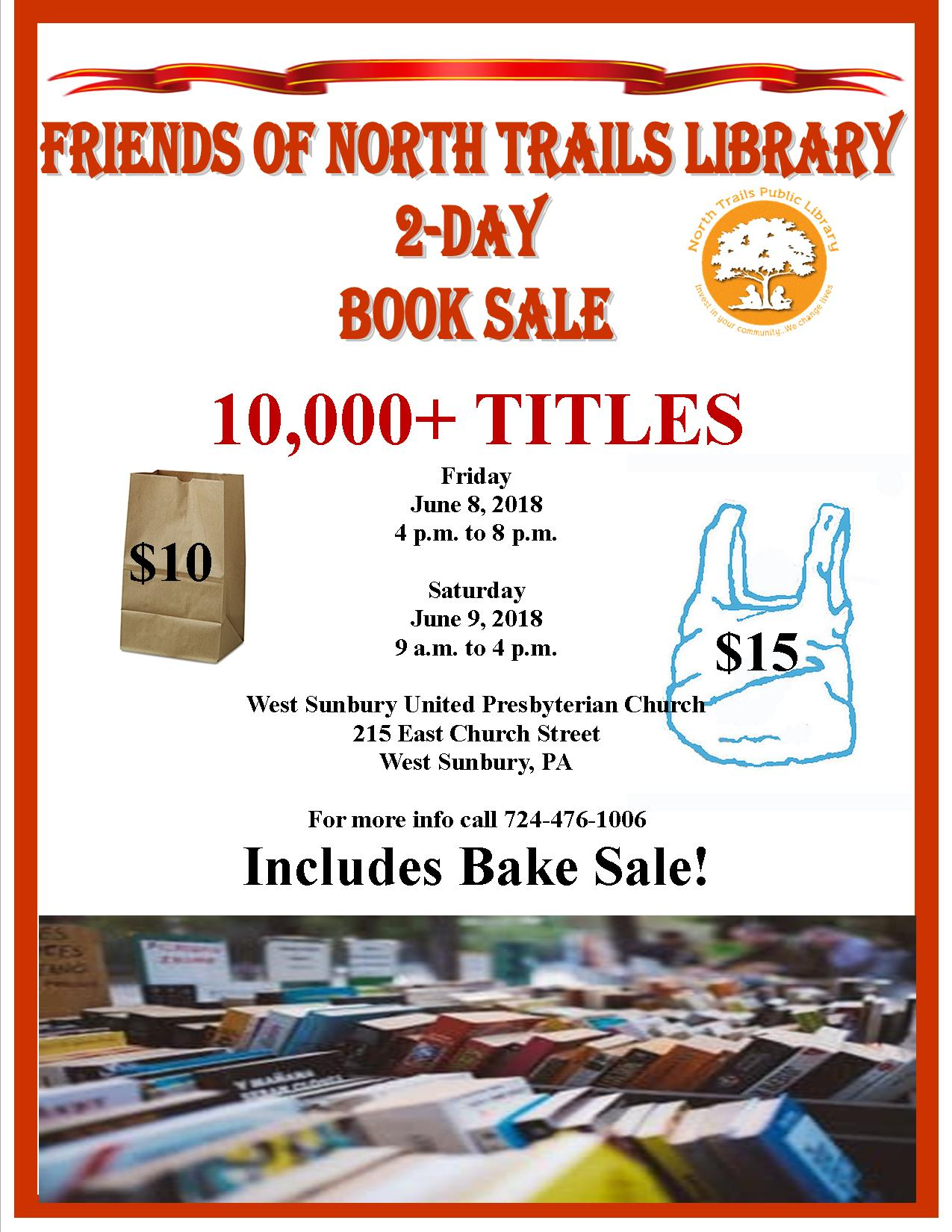 Church Bake Sale Flyer