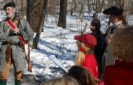 Hikers Take Washington's Journey Through Butler Co.