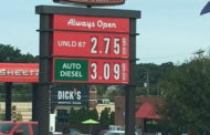Gas Prices Continue To Fall In Butler