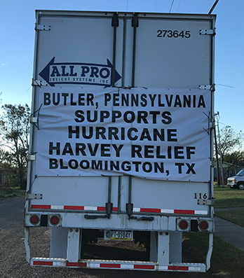 As Florida Begins To Recover From Irma, Donated Items Arrive In Texas Following Hurricane Harvey
