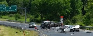 Violent Weekend Crash Closes Portion Of I-79