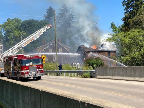 Crews Battle Southern Butler County Blaze