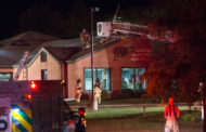 Firefighters Battle Reported Electrical Fire