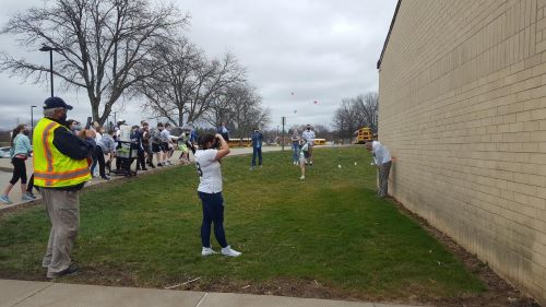 South Butler Students Plop Principals For Fundraiser
