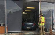Car Crashes Through Butler Twp. Dealership