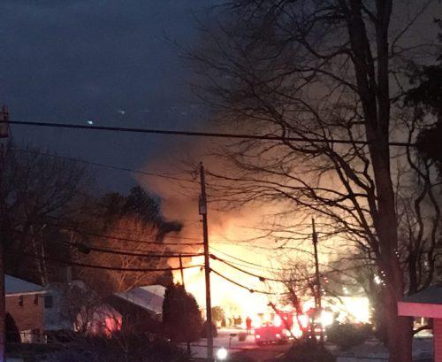 Investigators Suspect Meth Lab Caused House Fire